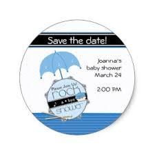 baby shower save the date stickers zazzle co uk