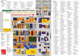 Mayfair Mall Map Downtown Iowa City Business Directory Map By Downtownic Issuu