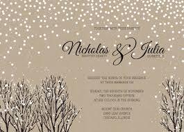 winter themed wedding invitations winter wedding invitations winter wedding invitations using an