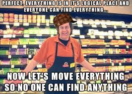 Grocery Store Meme - scumbag grocery store manager meme on imgur