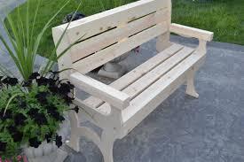 wooden park bench poole u0026 sons inc