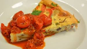 cuisine tefal chef how to frittata with truffled tomato sauce tefal