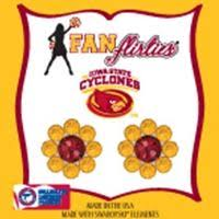 flirties earrings 24 best isu images on iowa state cyclones state
