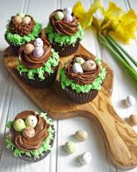 Chocolate Easter Cake Decorations by Chocolate Easter Egg Nest Cake