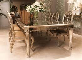 mirrored dining room table bassett mirror dining table room furniture 20 bmorebiostat com