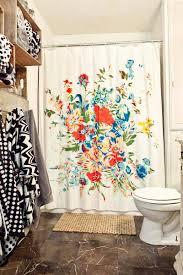 romantic floral scarf shower curtain floral shower curtains romantic floral scarf shower curtain