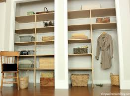 easy closet shelves storage ideas