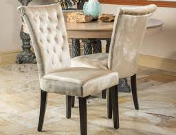 dining room tufted dining chair stunning tufted dining room
