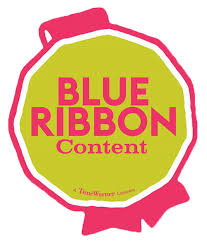logo ribbon blue ribbon content warner bros the studio
