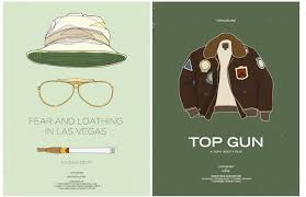 Fear Loathing Halloween Costume Ice Cold Movie Posters Inspired Male Costume Clothes Film