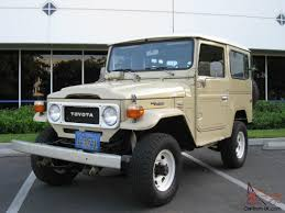 toyota california toyota land cruiser fj40 landcruiser 4wd fj 40 california original 4x4
