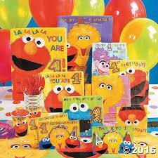 Elmo Party Decorations Walmart Best 25 Sesame Street Party Supplies Ideas On Pinterest Elmo