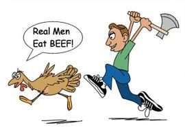 real eat beef humorous humor