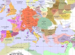 European Maps by Europe From 400 Ad To 1700 Ad