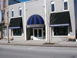Blue Awning Commercial Awnings Portfolio Otter Creek Awnings