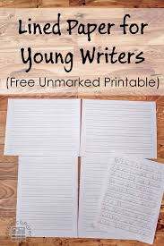 printable lined paper with dotted midline lined paper for young writers free printable kindergarten and writer