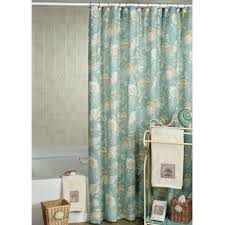 curtain added stainless extra long fabric shower smlf white