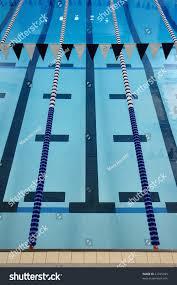 indoor swimming pool lane lines backstroke stock photo 41295205