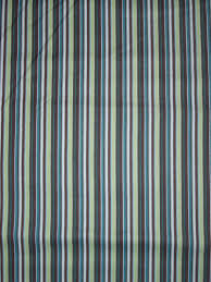 Blue And White Striped Shower Curtain Lovey Duds Fabric Selections