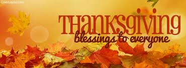 thanksgiving blessings to everyone cover thanksgiving