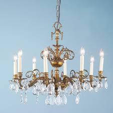 crystal chandelier dining room elegant antique brass urn and crystal chandelier dining room