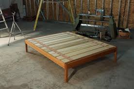 Oak Platform Bed White Oak Platform Bed Frame Weather Furniture
