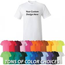 design custom printed t shirts