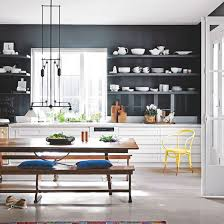 wall ideas for kitchen navy kitchen ideas ideal home