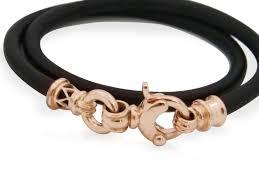 leather bracelets for men gold leather bracelet leather bracelet 9k rose gold clasps