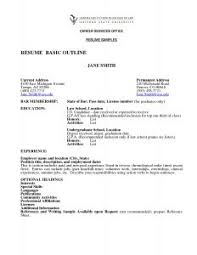 Example Of Student Resume by Examples Of Resumes 93 Excellent Resume Layout Samples Format