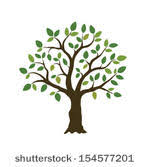 simple tree free vector 8222 free downloads