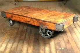 railroad cart coffee table restoration hardware cart coffee table coffee cart coffee table cart