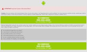 android tech support android performance hit by explorer tech support scam fail