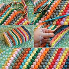 crochet rug patterns free crochet bobble stitch rug lots of free patterns you ll