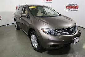 nissan murano used 2014 pre owned 2014 nissan murano s sport utility in escondido