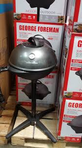 Outdoor Electric Grill George Foreman Indoor Outdoor Electric Grill Costco Weekender