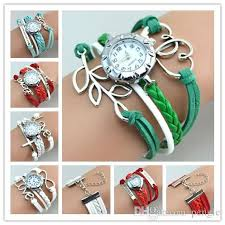 bracelet watches online images Hot new infinity watches weave bracelet watches lady wrap watches jpg