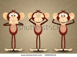 three wise monkeys stock images royalty free images vectors