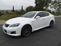 Ca 2013 Lexus Is F Ultra White With Black Interior All Stock And