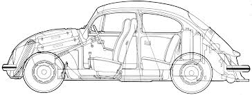 volkswagen drawing car volkswagen beetle the photo thumbnail image of figure