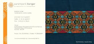 Craft Invitation Card Invitation Card And Workshop Poster For April 2017 Exhibition