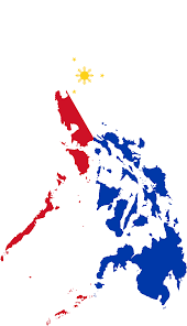 Phippines Flag Clipart Philippines Map Flag