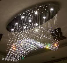Chandelier For Room Large Modern Wave Chandeliers L Living Room L Hotel