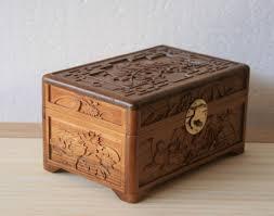 dongyang wood carving chor wood jewelry box storage box small