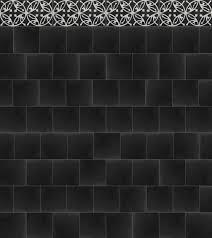 Black And White Border Tiles Cement Border Tile Castillo Ornament 2 Von Replicata Colour