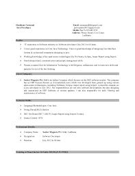 Sample Resume Software Engineer by Download Java Developer Resume Sample Haadyaooverbayresort Com