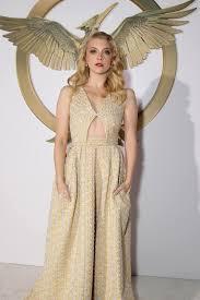 katniss everdeen wedding dress costume with hunger natalie dormer