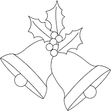 any old craft christmas bells and holly digi stamp freebie