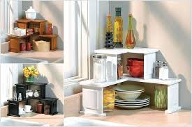 kitchen counter storage ideas kitchen counter storage ideas shelf design space regarding