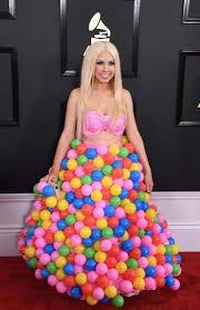 balloon dress who wore what at the grammys the boston globe